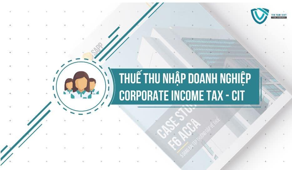 quyết toán thuế thu nhập doanh nghiệp 8