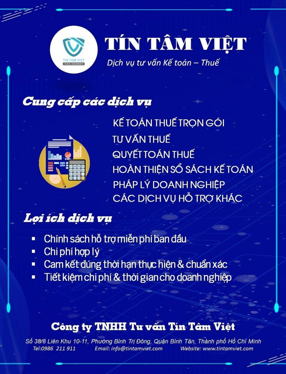 thue dich vu ke toan thue tron goi tai Tin Tam Viet