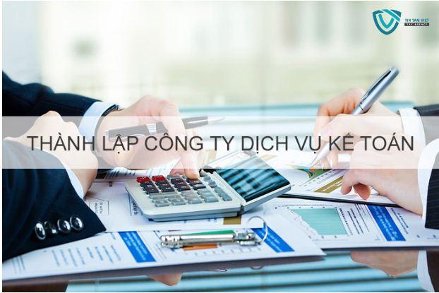 điều kiện thành lập doanh nghiệp dịch vụ kế toán